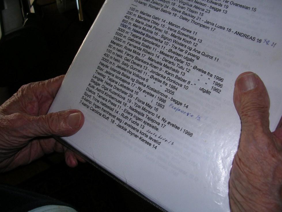 Noen av Jorsetts notater.