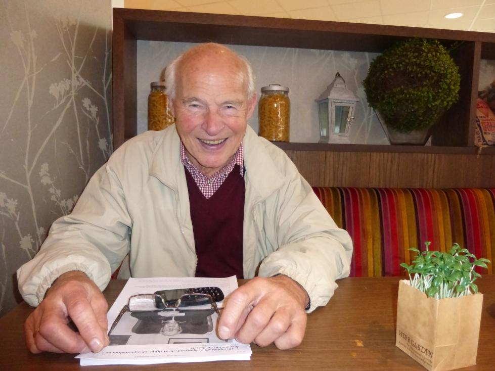 Knut Johannesen. Dobbelt olympisk mester på skøyter.