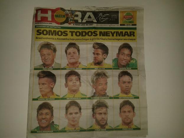 Neymar meg her og Neymar meg der.