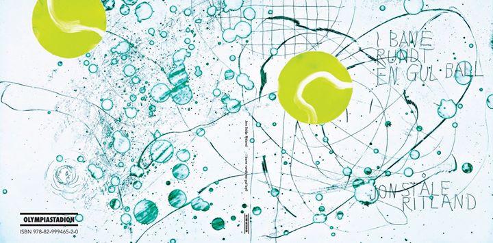 I bane rundt en gul ball - Jon Ståle Ritland. Omslag: Magne Furuholmen.