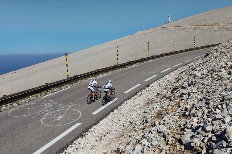 På vei opp Mont Ventoux. Foto: Tor Simen Ulstein.
