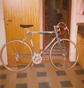 Den første sykkelen