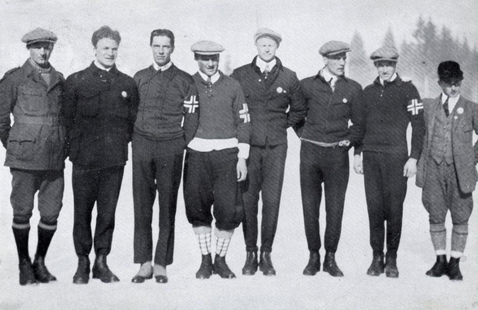 Skitroppen OL 1924